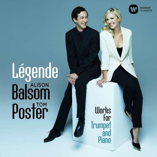 CD BALSOM, ALISON/TOM POSTER - LEGENDE - LIVE RECITAL