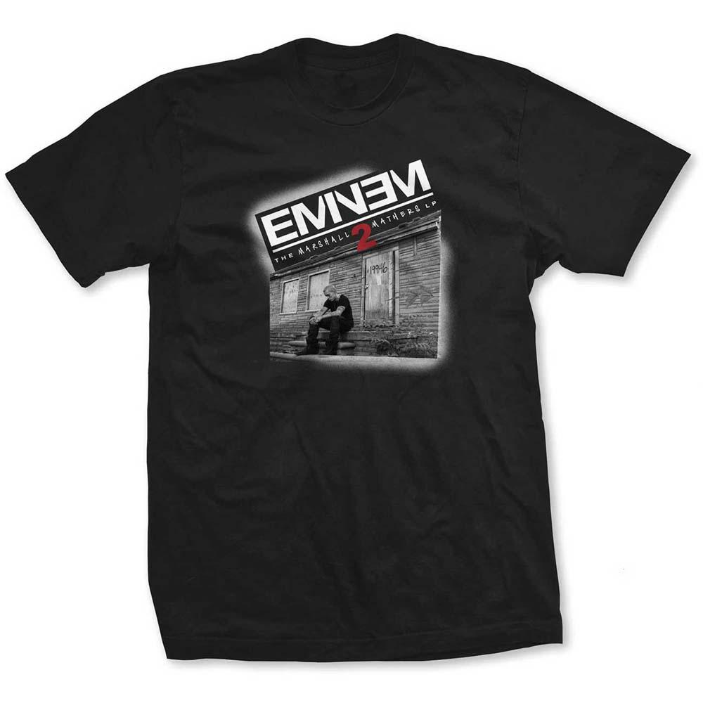 Eminem - Tričko Marshall Mathers 2 - Muž, Unisex, Čierna, S