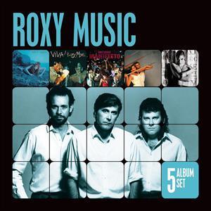 Roxy Music - CD 5 ALBUM SET
