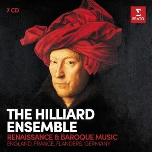 CD ENSEMBLE HILLIARD, THE - RENAISSANCE & BAROQUE MUSIC (ENGLAND, FRANCE, FLANDERS, GERMANY)