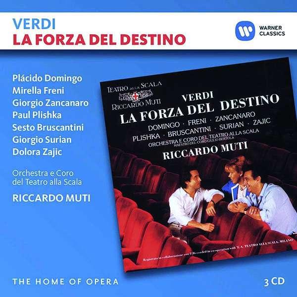 CD MUTI/DOMINGO/FRENI - VERDI: LA FORZA DEL DESTINO