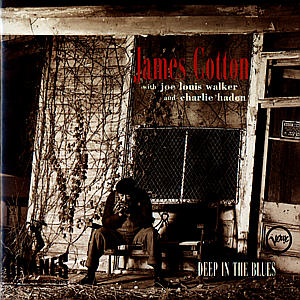 CD COTTON JAMES - DEEP IN THE BLUES