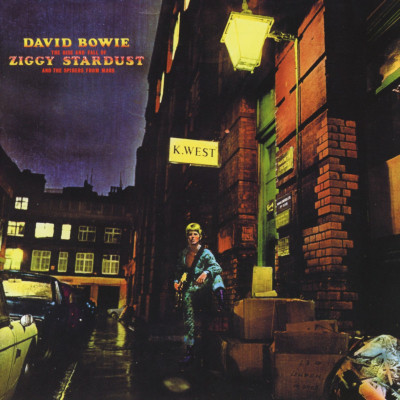 David Bowie - CD THE RISE AND FALL OF ZIGGY STARDUST AND THE SPIDERS FROM MARS