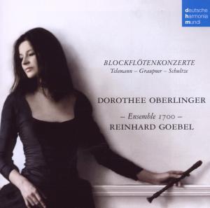 CD TELEMANN/GRAUPNER - Recorder Concertos
