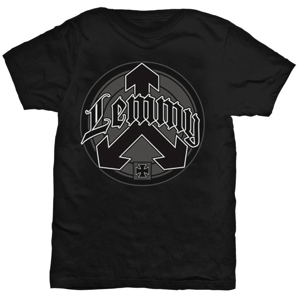 Lemmy - Tričko Arrow Logo - Muž, Unisex, Čierna, L