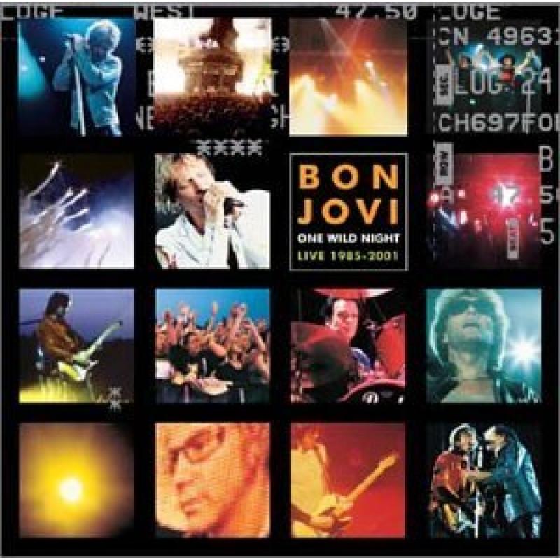 Bon Jovi - CD ONE WILD NIGHT