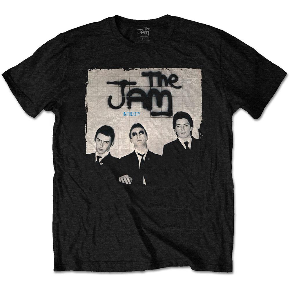 The Jam - Tričko In The City - Muž, Unisex, Čierna, M