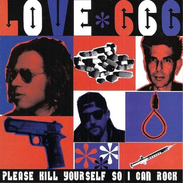 CD LOVE 666 - PLEAS KILL YOURSELF SO I CAN ROCK