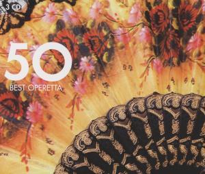 Various - CD 50 BEST OPERETTA