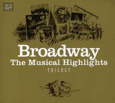 CD V/A - BROADWAY TRILOGY