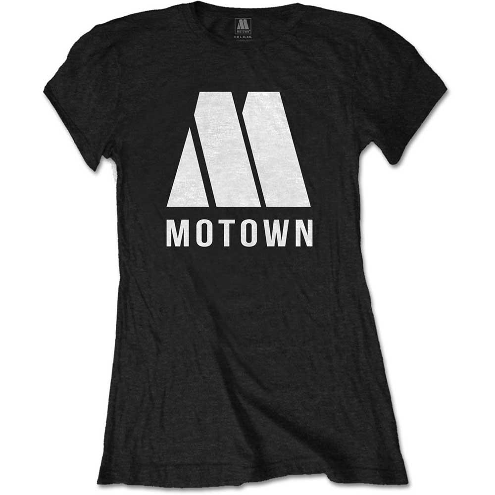 Motown - Tričko M Logo - Žena, Čierna, M