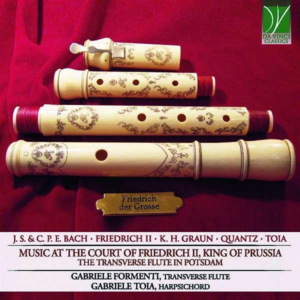 CD FORMENTI, GABRIELE/GABRIE - MUSIC AT THE COURT OF FRIEDRICH II: THE TRANSVERSE FLUTE IN POTSDAM