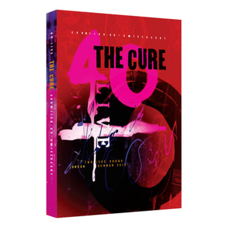 The Cure - DVD CURAETION 25 - ANNIVERSARY/LIMITED