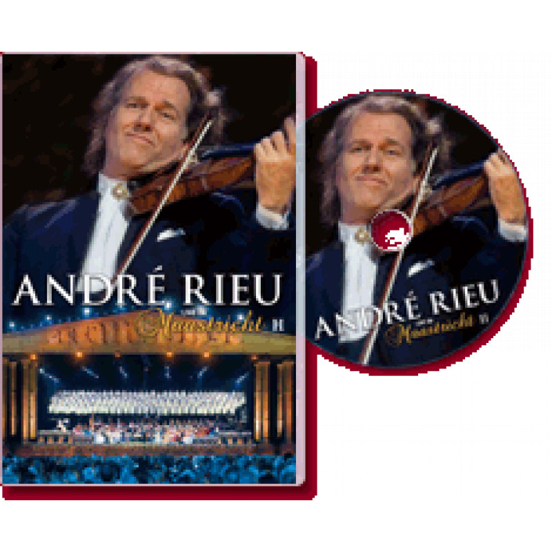 DVD RIEU ANDRE - LIVE IN MAASTRICHT II