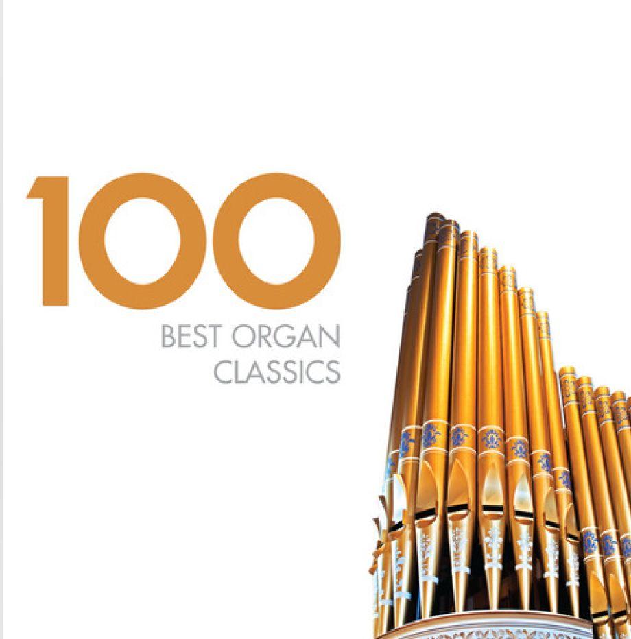 CD VARIOUS ARTISTS - 100 BEST ORGAN CLASSICS