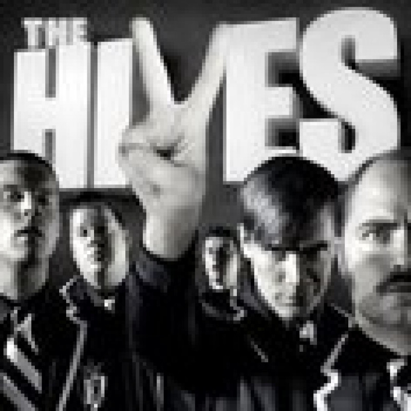 CD THE HIVES - THE BLACK AND WHITE ALBUM