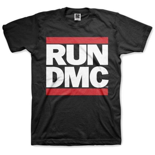 Run-DMC - Tričko Logo - Muž, Unisex, Čierna, XL