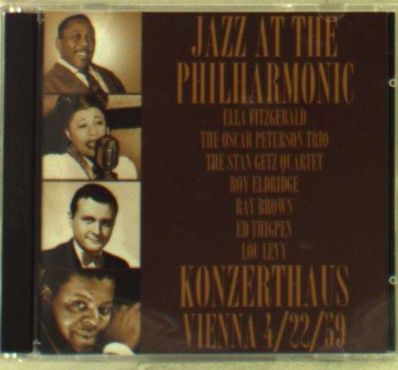 CD V/A - JAZZ AT THE PHILHARMONIC - KONZERTHAUS VIENNA 4/22/59