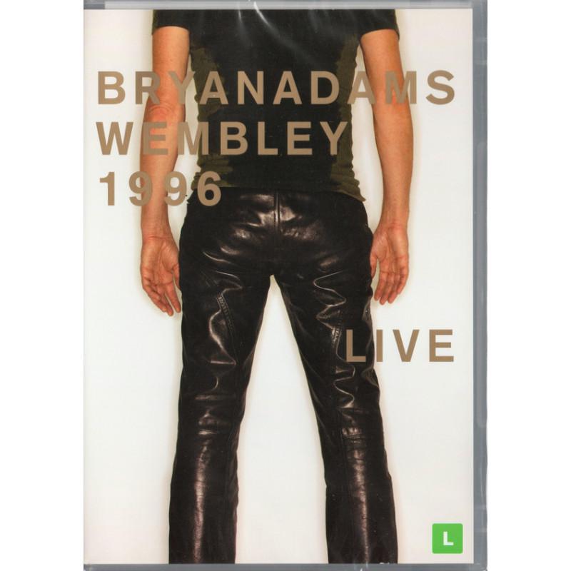 DVD ADAMS BRYAN - LIVE AT WEMBLEY