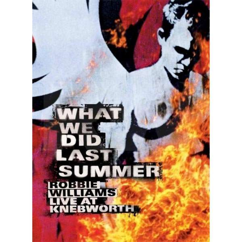 DVD WILLIAMS ROBBIE - WHAT WE DID LAST SUM