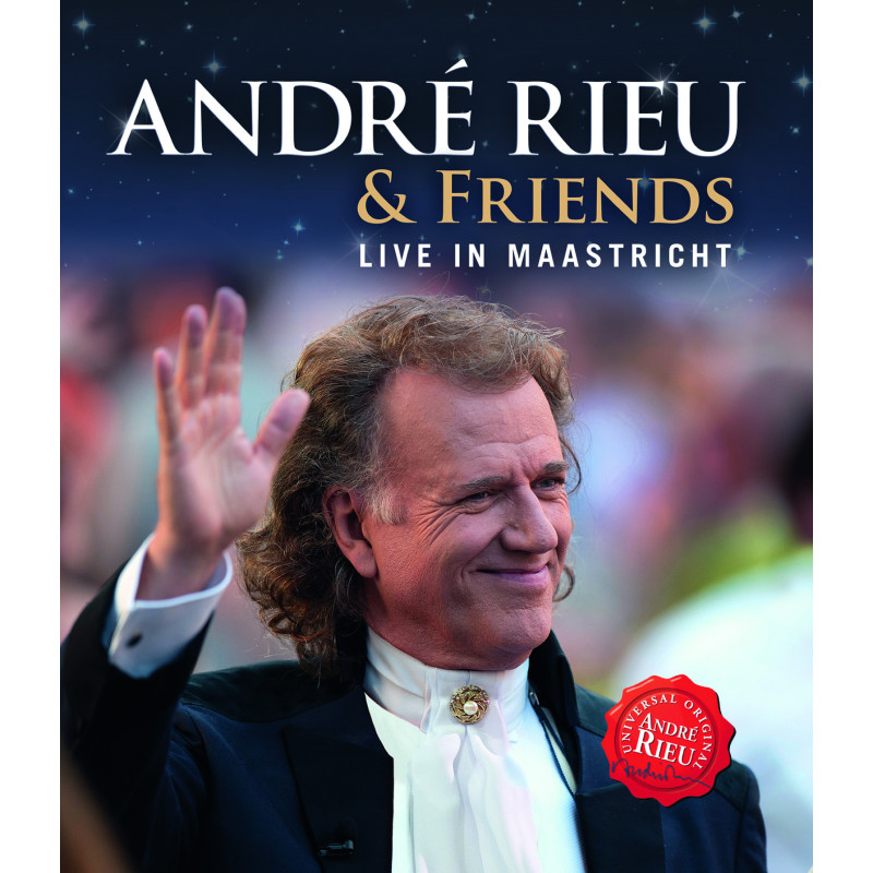 DVD RIEU ANDRE - LIVE IN MAASTRICHT