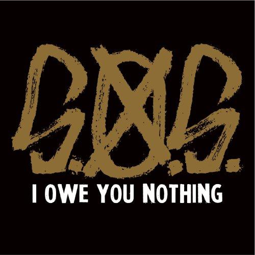 CD S.O.S. - I OWE YOU NOTHING