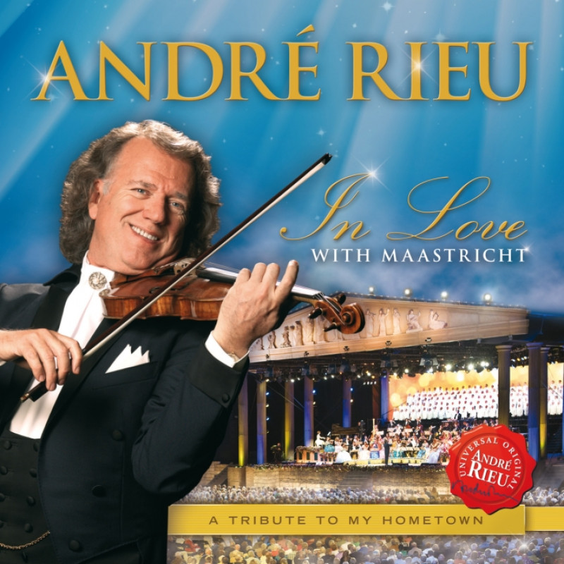 CD RIEU ANDRE - IN LOVE WITH MAASTRICHT