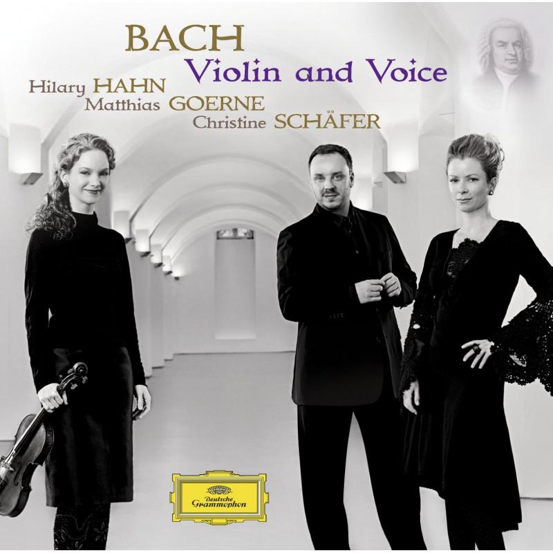 CD HAHN HILLARY - J. S. Bach: Violin & Voice
