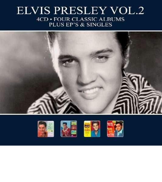 Elvis Presley - CD FOUR CLASSIC ALBUMS PLUS EP'S & SINGLES VOL.2