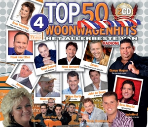 CD V/A - WOONWAGENHITS TOP 50 4