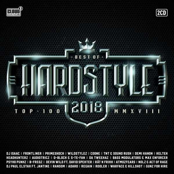 CD V/A - HARDSTYLE TOP 100 - BEST OF 2018