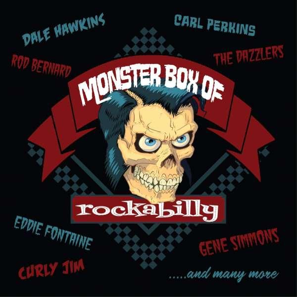 CD V/A - MONSTER BOX OF ROCKABILLY