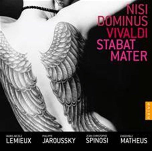 CD VIVALDI, A. - NISI DOMINUS/STABAT MATER