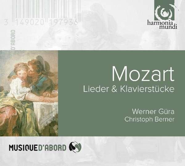 CD MOZART, W.A. - LIEDER & KLAVIERSTUCKE