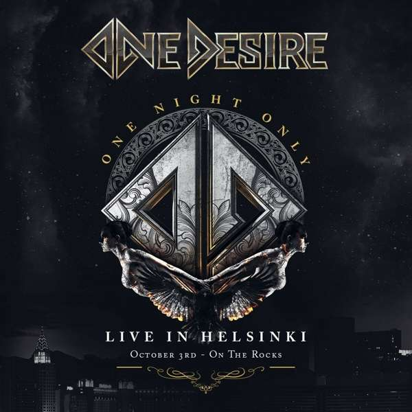 CD ONE DESIRE - ONE NIGHT ONLY: LIVE IN HELSINKI