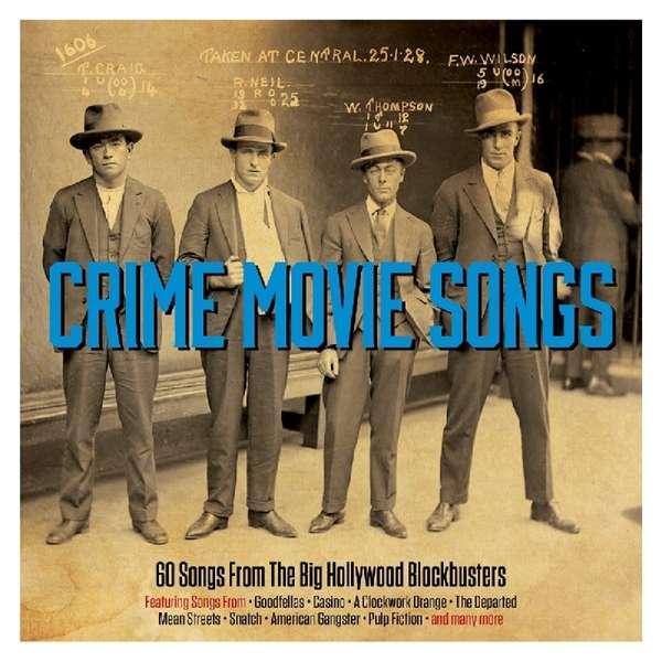 CD V/A - CRIME MOVIE SONGS