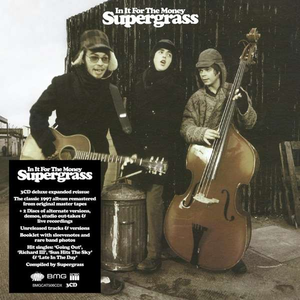 CD SUPERGRASS - IN IT FOR THE MONEY (2021 - REMASTER - DELUXE EXPANDED EDITION