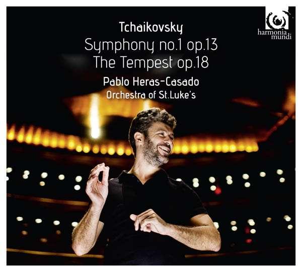 CD TCHAIKOVSKY, P.I. - SYMPHONY NO.1 OP.13/TEMPEST OP.18