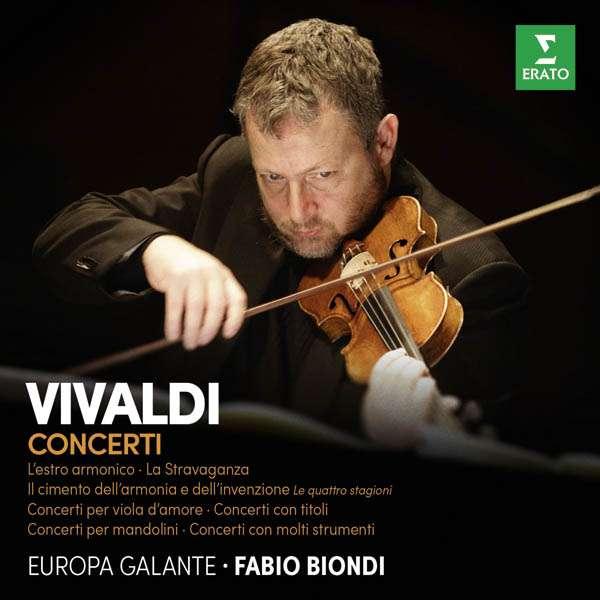CD BIONDI/EUROPA GALANTE - VIVALDI: CONCERTI