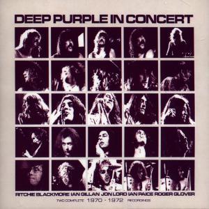 Deep Purple - CD IN CONCERT 1970-1972