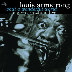 Vinyl ARMSTRONG, LOUIS - GREAT SATCHMO LIVE/WHAT A WONDERFUL WORLD