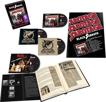 Black Sabbath - CD SABOTAGE (SUPER DELUXE BOX SET)