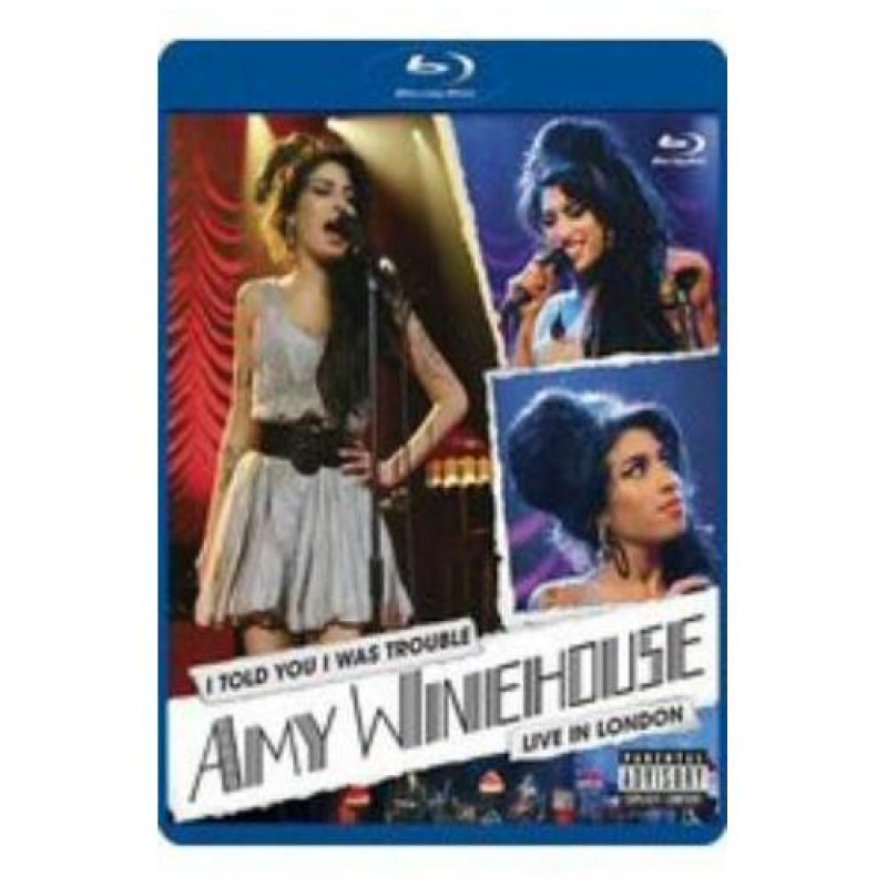 Amy Winehouse - Blu-ray WINEHOUSE AMY - I TOLD YOU I WAS TROUBLE - AMY WINEHOUSE LIVE IN LONDON