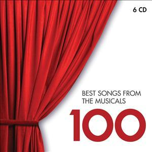 CD VARIOUS ARTISTS - 100 BEST SONGS FROM THE MUSICALS