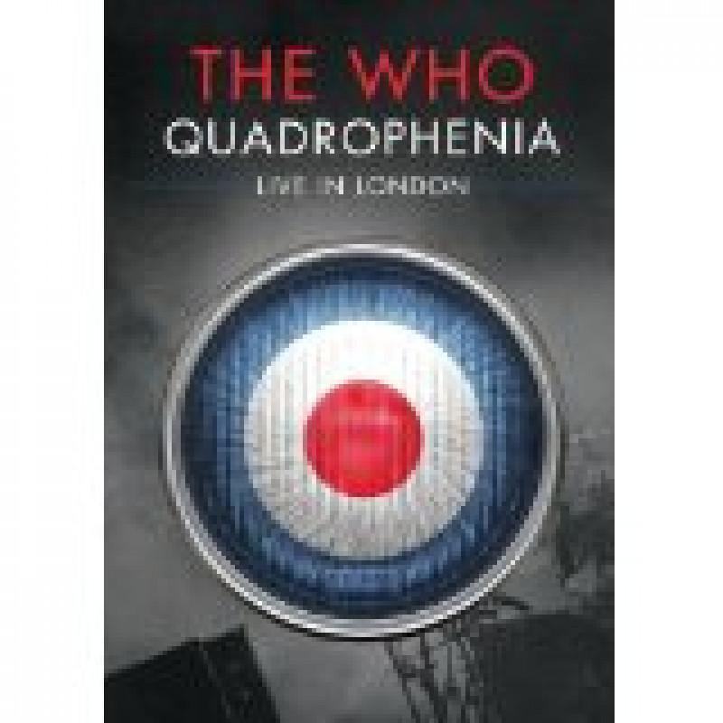 DVD WHO THE - QUADROPHENIA-LIVE IN LONDON