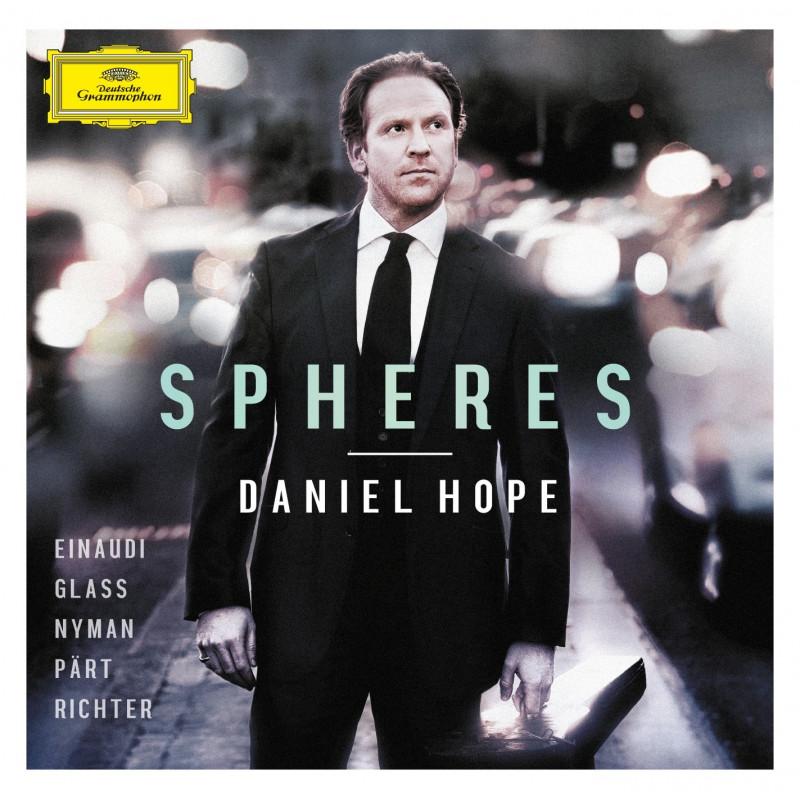 CD HOPE DANIEL - SPHERES