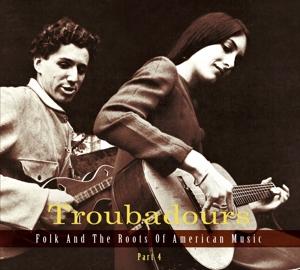 CD V/A - TROUBADOURS 4 (GERMAN)