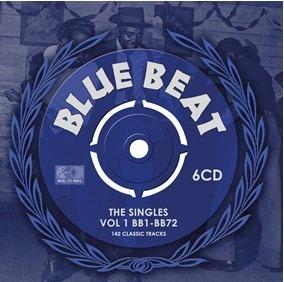 CD V/A - BLUE BEAT - SINGLES VOL.1 BB1-BB72