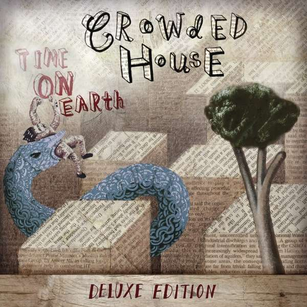 Vinyl CROWDED HOUSE - TIME ON EARTH