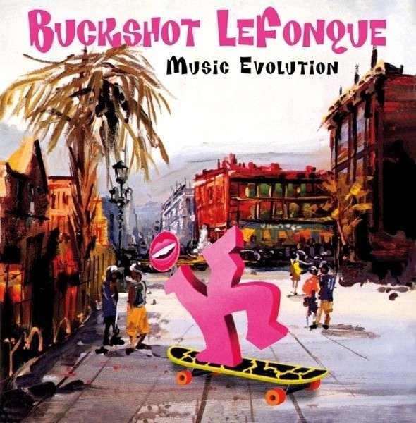 CD BUCKSHOT LEFONQUE - MUSIC EVOLUTION